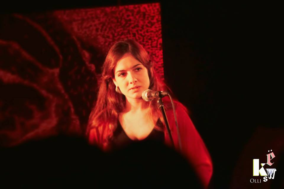 Sonja Lewandowski beim KWS im Vortex, Januar 2014